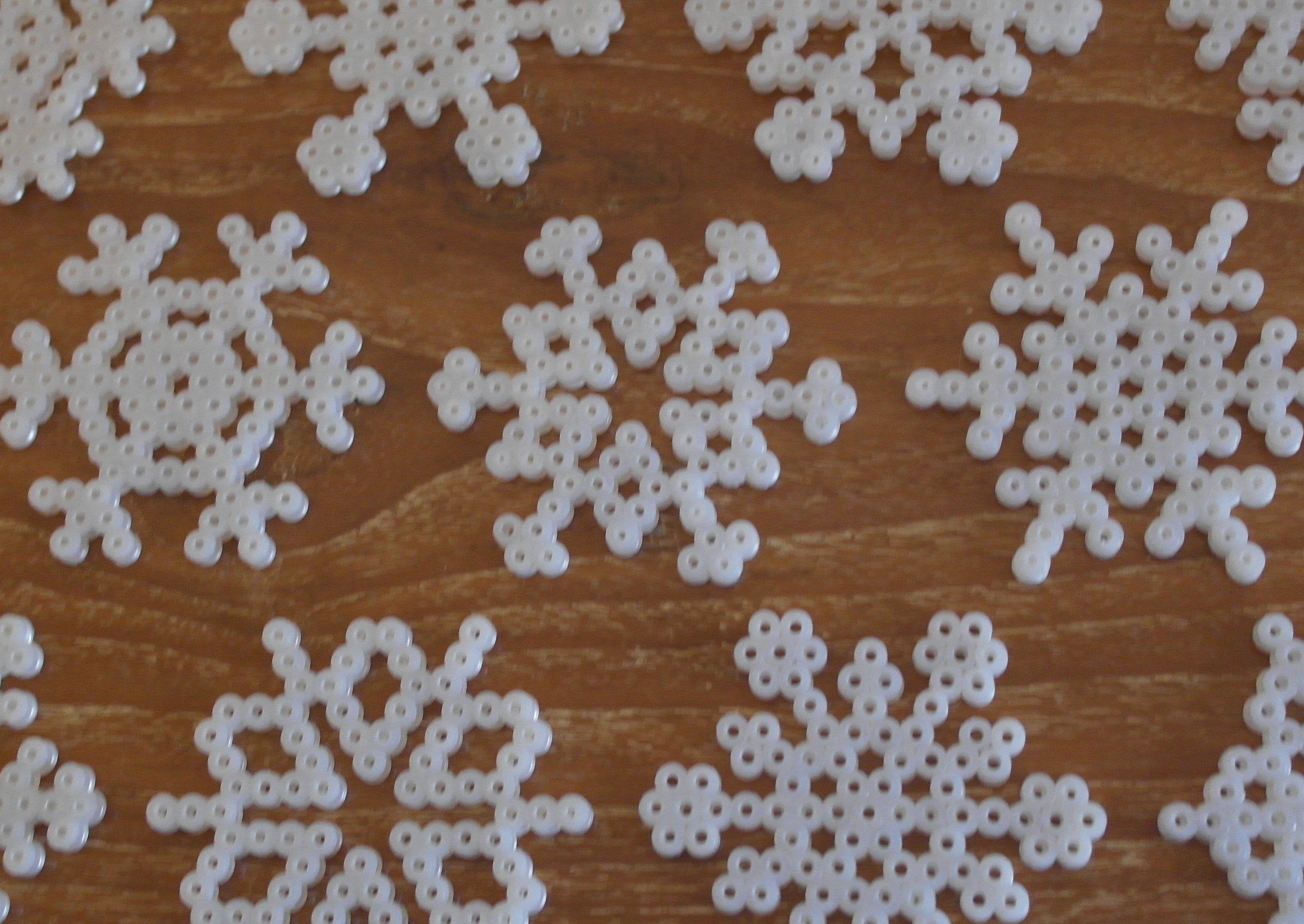 Sneflokke kommer vrimlende…
