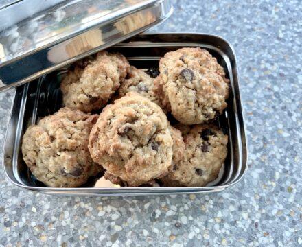 Energifyldte Ranger cookies, fyldt med alt mulig lækkert